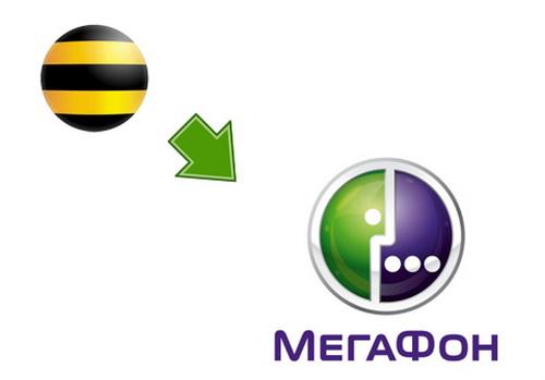 Отправка денег с номера Билайн на МегаФон